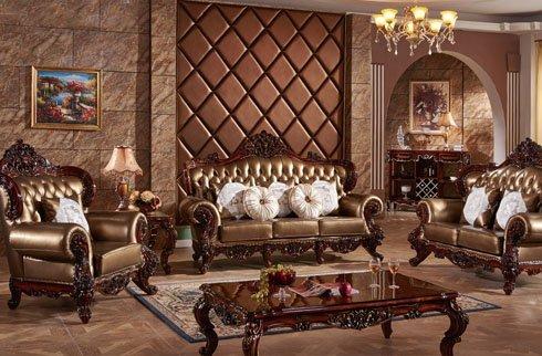 Sofa cổ điển thiết kế tinh tế sang trọng