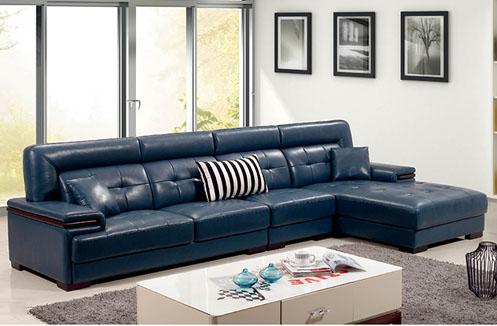 Bộ ghế sofa phòng khách sắc xanh huyền bí