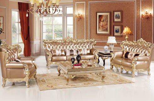 Bộ sofa phòng khách cổ điển trang nhã tinh tế