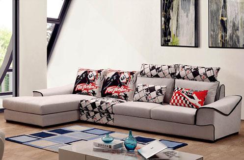 Bộ ghế sofa da hiện đại màu xám giá hạt dẻ