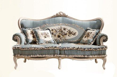 Ghế sofa phòng khách tân cổ điển thiết kế Châu Âu