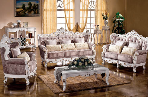 Bộ sofa phòng khách tinh tế thời thượng nhập khẩu