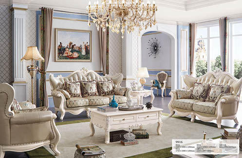 Ghế sofa tân cổ điển sang trọng