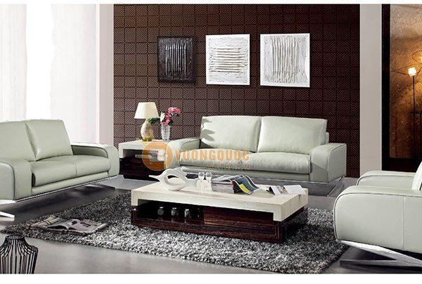 Sofa màu da tinh tế
