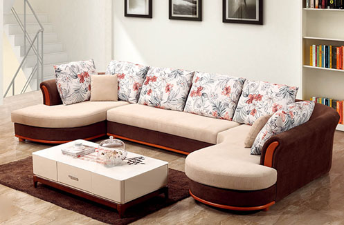Sofa phòng khách cao cấp kiểu dáng chữ U