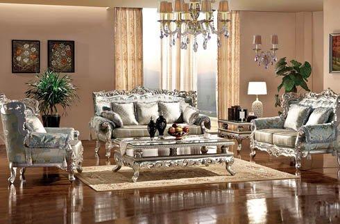 Sofa phòng khách cổ điển phong cách Hoàng Gia tinh tế