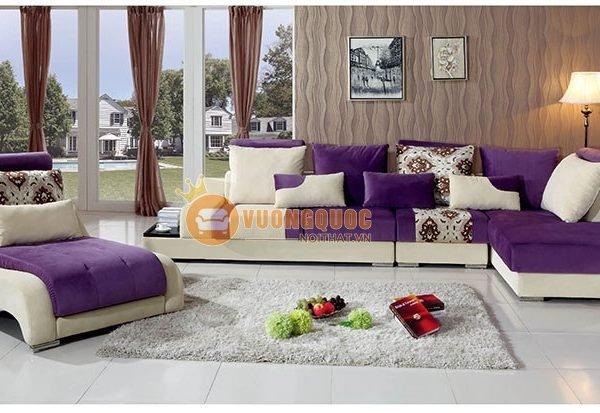 Sofa sắc tím sang trọng