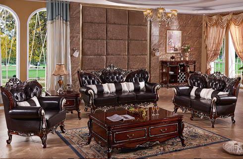 Bộ sofa nhập khẩu thiết kế Châu Âu sang trọng
