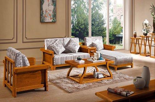 Sofa gỗ tự nhiên mang phong cách cổ điển