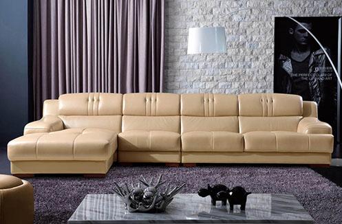 Sofa phòng khách Hoàng Gia sắc kem cao cấp
