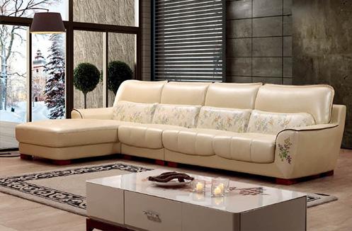 Sofa phòng khách êm dịu hình chữ L