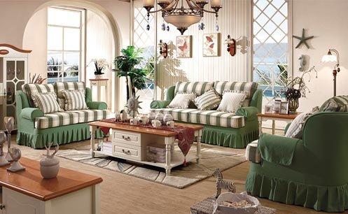 Băn khoăn không biết nên mua sofa nỉ hay da cho phòng khách sang trọng