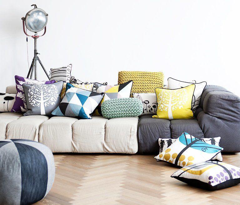 Bí quyết lựa chọn gối sofa đẹp cho phòng khách gia đình