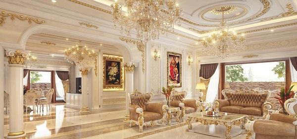Showroom bán đồ nội thất tân cổ điển nhập khẩu uy tín