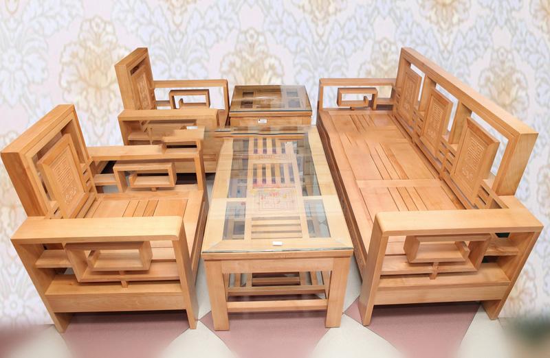 Bàn ghế gỗ sồi phòng khách – Những câu hỏi thường gặp