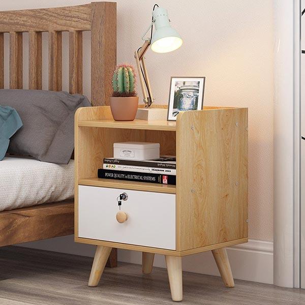 Bộ sưu tập các mẫu Tủ đầu giường gỗ công nghiệp HOT nhất năm 2021